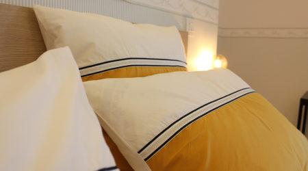 detail-coussin-jaune-gite-scorff-domaine-des-trois-rivieres-merlevenez